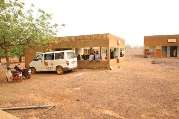 L'ambulance et le centre médical